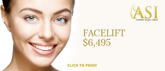 facelift coupon
