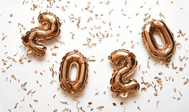 2020 celebration balloons