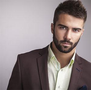 photo of handsome man