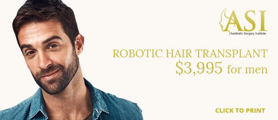 robotic hair transplant special